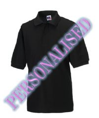 NRG MALE POLO WITH EMBROIDERED LOGO & PERSONALISED